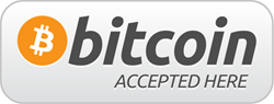We accept bitcoin.